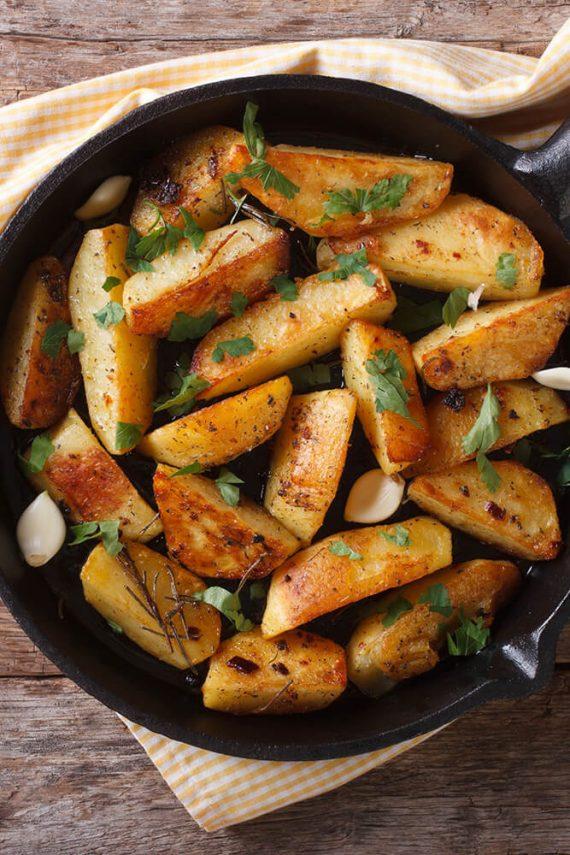 Gargantua Delivery: Cartofi țărănești