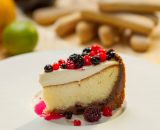 Cheese cake cu fructe de pădure