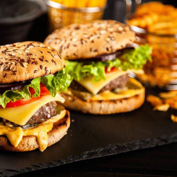 1 + 1 Hamburger de vită