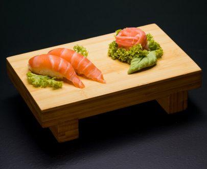 Nigiri Salmon 2 buc - orez sushi, somon