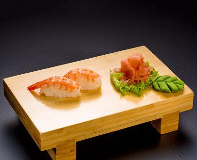 Nigiri Shrimp 2 buc - orez sushi, creveți