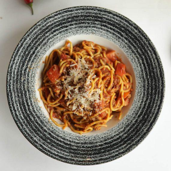 Spaghete cu ragu de vită à la bolognese