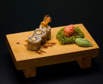 Fried Salmon Rolls 3 buc - orez sushi, somon tempura