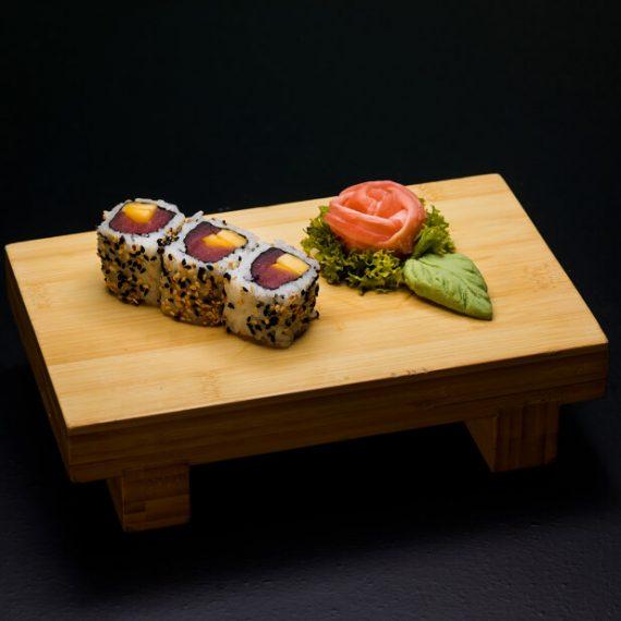 Mango Bongo Rolls 3 buc - orez sushi, ton, mango